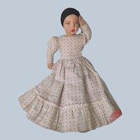 Vintage Cloth Lenci Type Italian or Spanish Topsy Turvy Doll c1950's
