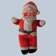 Vintage 1950's Stuffed Santa Claus Doll