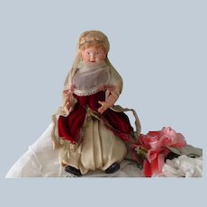 Vintage French Petit Colin Celluloid Doll C1940's