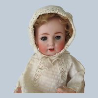 "Antique Bisque Baby Doll German JDK Kestner #257 11"" c1910"
