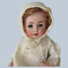 """Antique Bisque Baby Doll German JDK Kestner #257 11"""" c1910"""