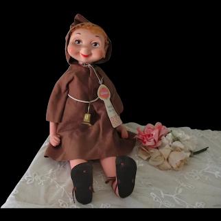 Vintage Whimsies American Doll Freddie the Friar with Tag c1960's