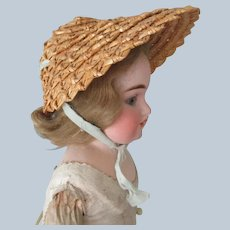 Old Straw Doll Hat
