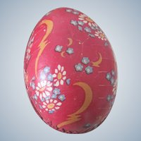 Old German Lithographed Easter Candy Container