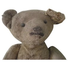 Antique Primitive Teddy Bear Doll c1915-20