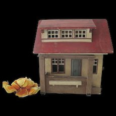 Vintage German Gottschalk Dollhouse c1920