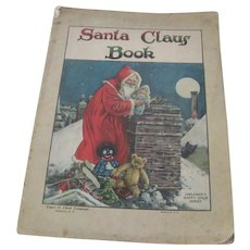 Old Edwardian Santa Claus Children's Christmas Book c1915