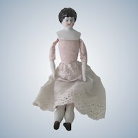Old Late 19thc German China Head Doll