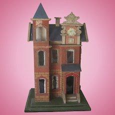Antique Victorian Gottschalk Dollhouse Model #2820 c1890