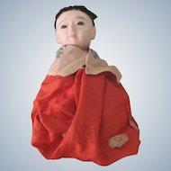 Old Vintage Japanese Ichimatsu Gofun Baby Doll c1930