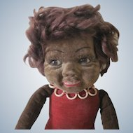 Vintage Norah Wellings English Cloth Islander Doll c1930