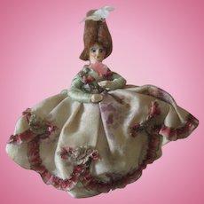 Antique Miniature 18thc Style Dollhouse Doll