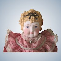 Antique German Parian China Doll C1870