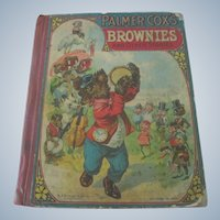 Old Palmer Cox's Brownies and Other Stories Children's Book c1900