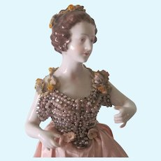 Antique German Dressel and Kister? Large Porcelain Half Doll