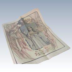 Old Victorian San Francisco Bulletin Newspaper Christmas Stories Angels c1903