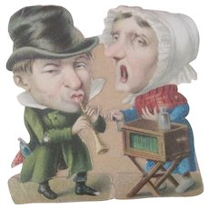 Old Victorian Caricature Print