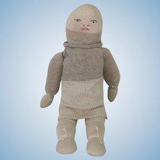 Vintage Handmade Sock Doll c1940's