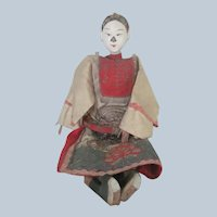Antique 19th Century Chinese Opera Doll Large Size