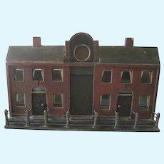 Rare Antique Georgian Dollhouse / Architectural Model c1840
