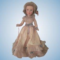 Vintage Monica Doll c1940