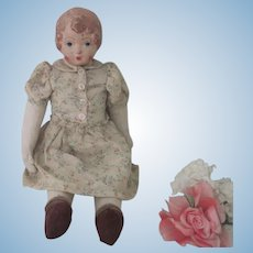 Antique WWI Red Cross Belgian Relief Doll
