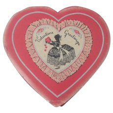 Vintage Valentine Candy Box 1930