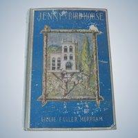 "Old Victorian children's book ""Jenny's Birdhouse"" c1913"