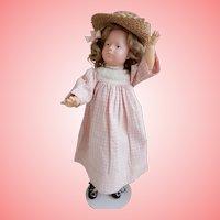 Rare 14.5 Inch  Character Doll by  Franz Bierschenk