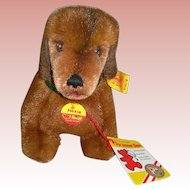 Hexie Steiff Dachshund Made in Austria