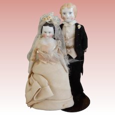 Doll House Bride and Groom
