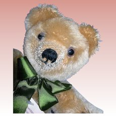 "12"" Merrythought Pure Mohair Exclusive Harrods Bear"