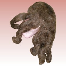 """Vintage Human Hair wig for 10-12"""" HC"""