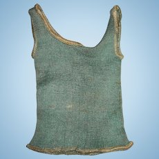 Vintage Undershirt For Boy doll