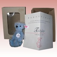 Tiny Steiff  Club Bear, 2004 Pale Blue Mohair