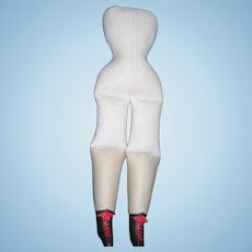 """17 1/2"""" Tall Vintage Body Fabulous with own leather boots"""