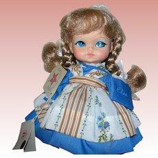 "11"" Little Elsa by Royal House of Dolls inc., Brooklyn NY Mint in box"