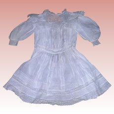 "Victorian Antique Doll Dress for 29-30"" Bisque dolls"