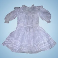 "Victorian Antique Doll Dress for 29-30"" Bisque dolls"