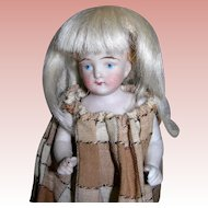 Small Mohair wig for All bisque dolls