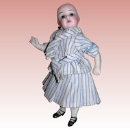 Cute Antique Sailor outfit for All bisque Dolls