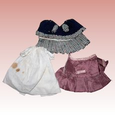 TLC Antique All bisque Clothing plus hat
