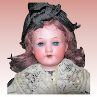 "13"" SFBJ Doll in Elaborate French Costume A&M Head"
