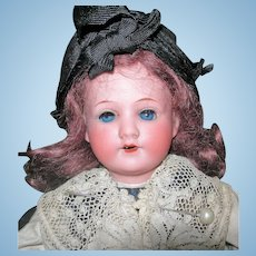 "13"" SFBJ Doll in Elaborate French Costume A&M Head"