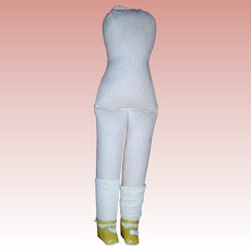 Darling Cloth body for Shoulder head dolls