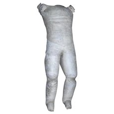 Large Chunky Lady Leather body with Gussets and sewn toes.