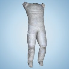 Large Chunky Leather body with Gussets and sewn toes.