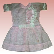 Antique Pink Cotton Gauze Dress..Just darling in its styling