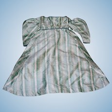 Darling Little Silk Dress for Paper mache China Parian