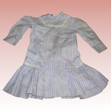 "Antique doll Dress for 16-18"" dolls"
